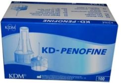 Kd Medical Kdm Penofine Igły Do Penów Insulinowych 30G 0.3X6Mm