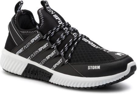 21bafaab4256a Sneakersy PLEIN SPORT - Runner Logos F19S MSC2237 STE003N Black 02 eobuwie. Buty  sportowe męskie Plein SportSneakersy PLEIN ...