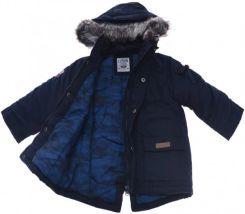 kurtka zimowa puchowa 152 metaliczna dziewczeca