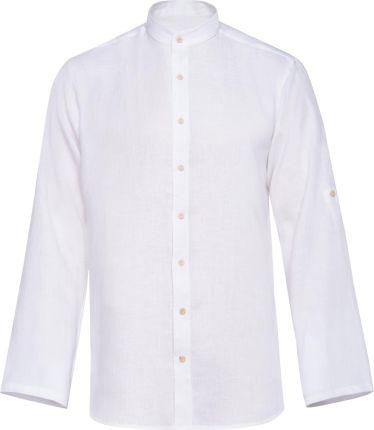 faa3f68590251d Białe Koszule męskie - Rodzaj: Eleganckie - Rozmiar 39 - Ceneo.pl