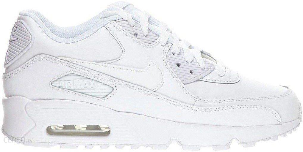 Buty DamskieMęskie Nike Air Max 90 LTR GS 106 biały
