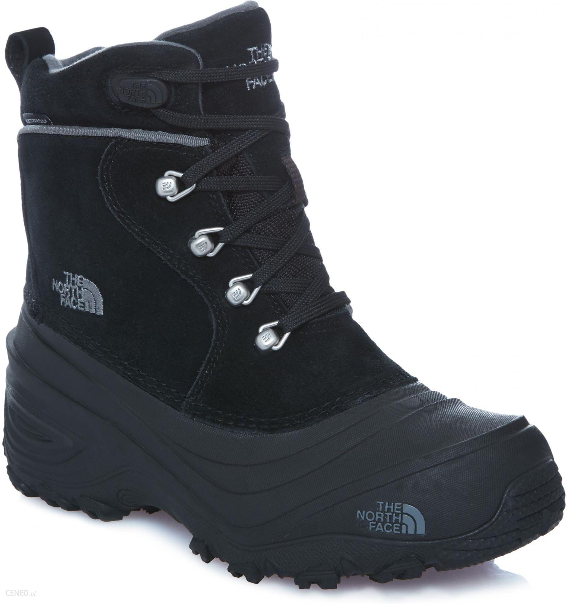 The North Face buty zimowe Y Chilkat Lace II Tnf czarny 31 Ceny i opinie Ceneo.pl