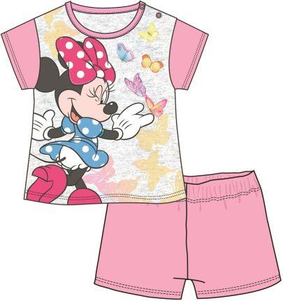 6685305dbd76e2 Disney by Arnetta piżama dziewczęca Minnie 74 jasnoróżowy