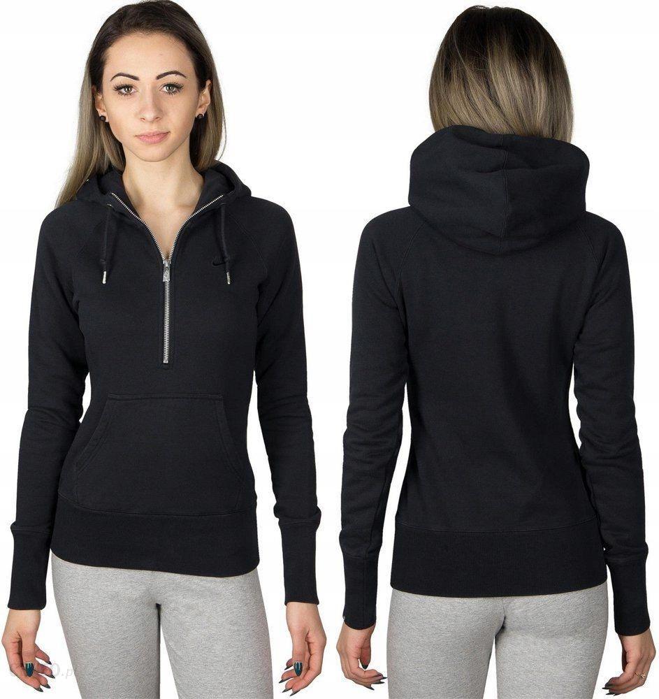 Bluzy damskie sportowe, polarowe, bawełniane Nike