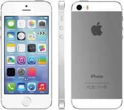 Produkt z Outletu: Apple Iphone 5S 16GB Silver Srebrny Szkło Etui