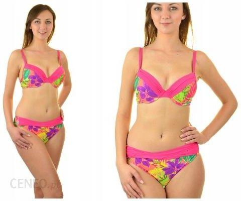 8dc5d7032aa9a7 38E Feba różowy-kwiaty F21/716 strój kąpielowy pus - Ceny i opinie ...