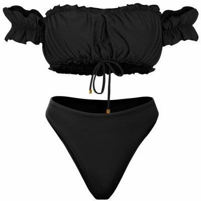 b1cf4438f7c210 Podobne produkty do Cropp - Jednoczęściowy strój z głębokim wycięciem na  plecach - Czarny. Kostium kąpielowy Qso Carmen