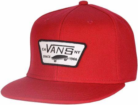 buy online 065b6 fef66 czapka męska VANS FULL PATCH SNAPBACK Reinvent Red