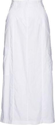 Spódnica dresowa z lampasem 961 GRANATOWY