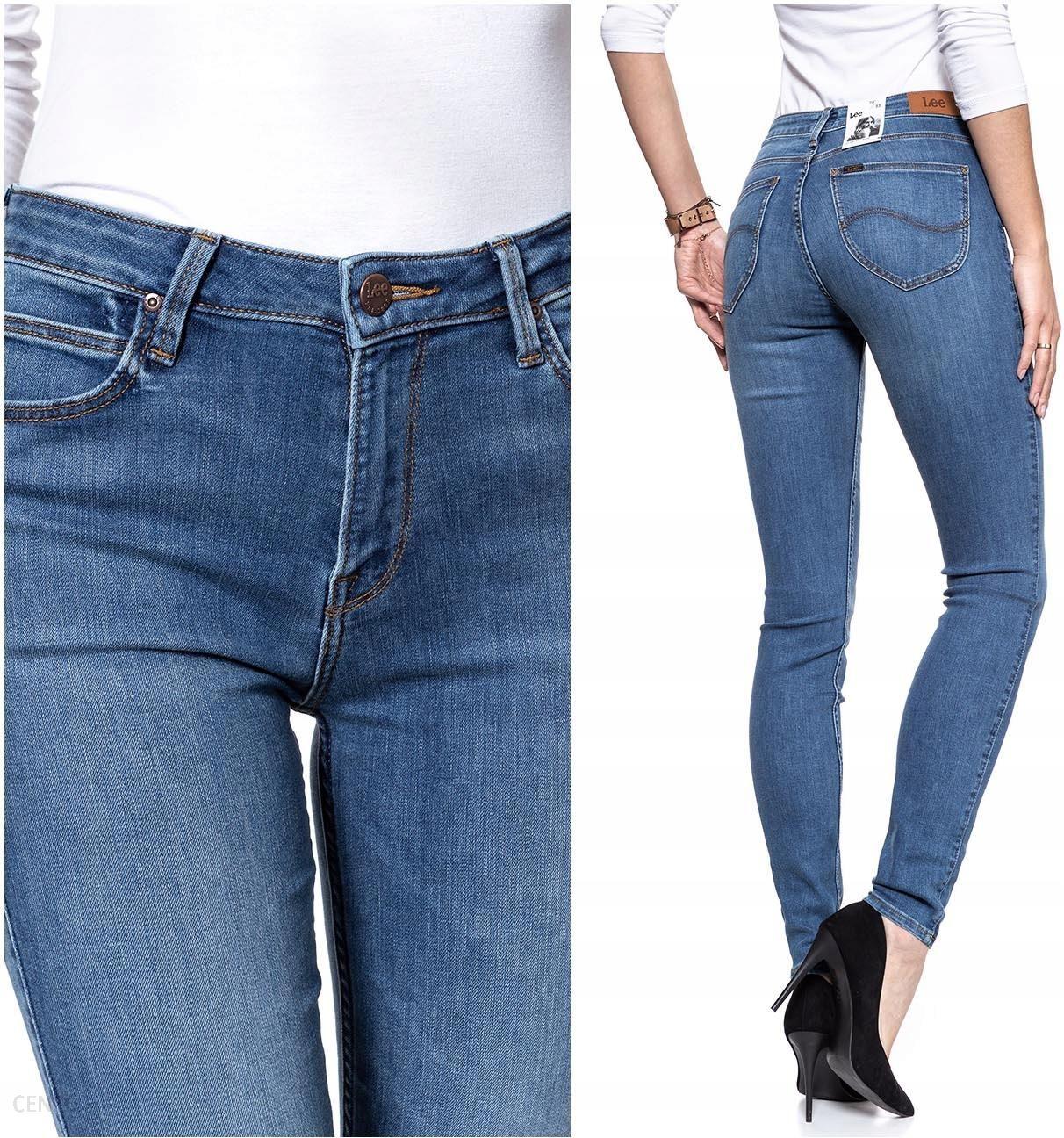 Lee Scarlett High Damskie Spodnie Jeansowe W32 L33 Ceny i opinie Ceneo.pl