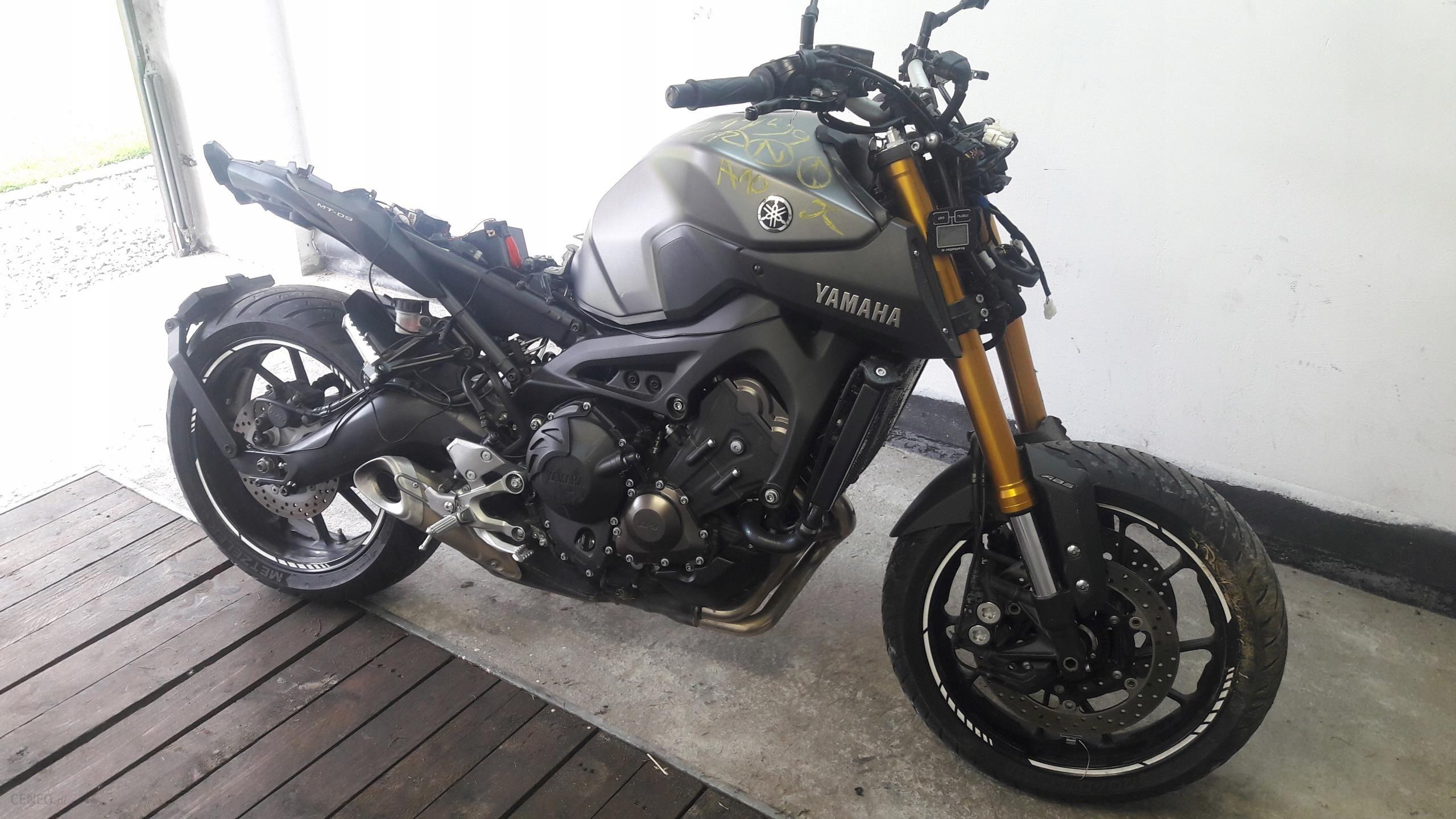 Yamaha Mt 09 Abs Uszkodzona Z Niemiec Odpala Opinie I Ceny Na Ceneo Pl