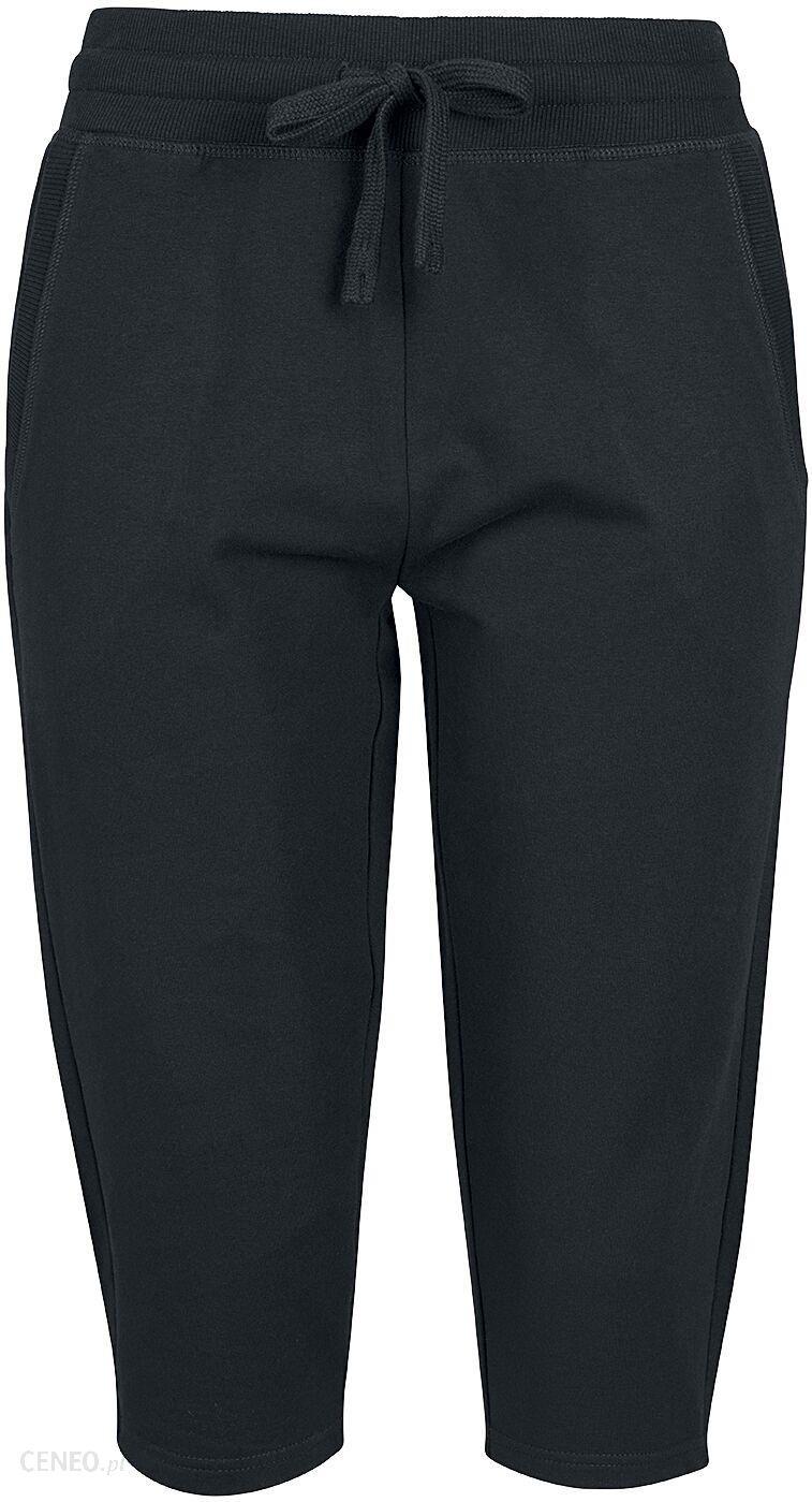 df4d87c9 RED by EMP - Ladies Terry 3/4 Jogging Pants - Spodnie z materiału - Kobiety  - czarny