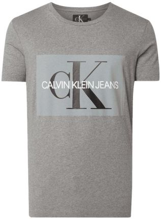 038dabbea Calvin Klein Jeans T-shirt z nadrukiem z logo ...