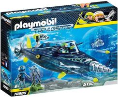 Playmobil Top Agents Team S.H.A.R.K Drill Destroyer 70005