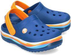 93dd44b3 Crocs - Klapki Dziecięce - 205697 BLUE JEAN