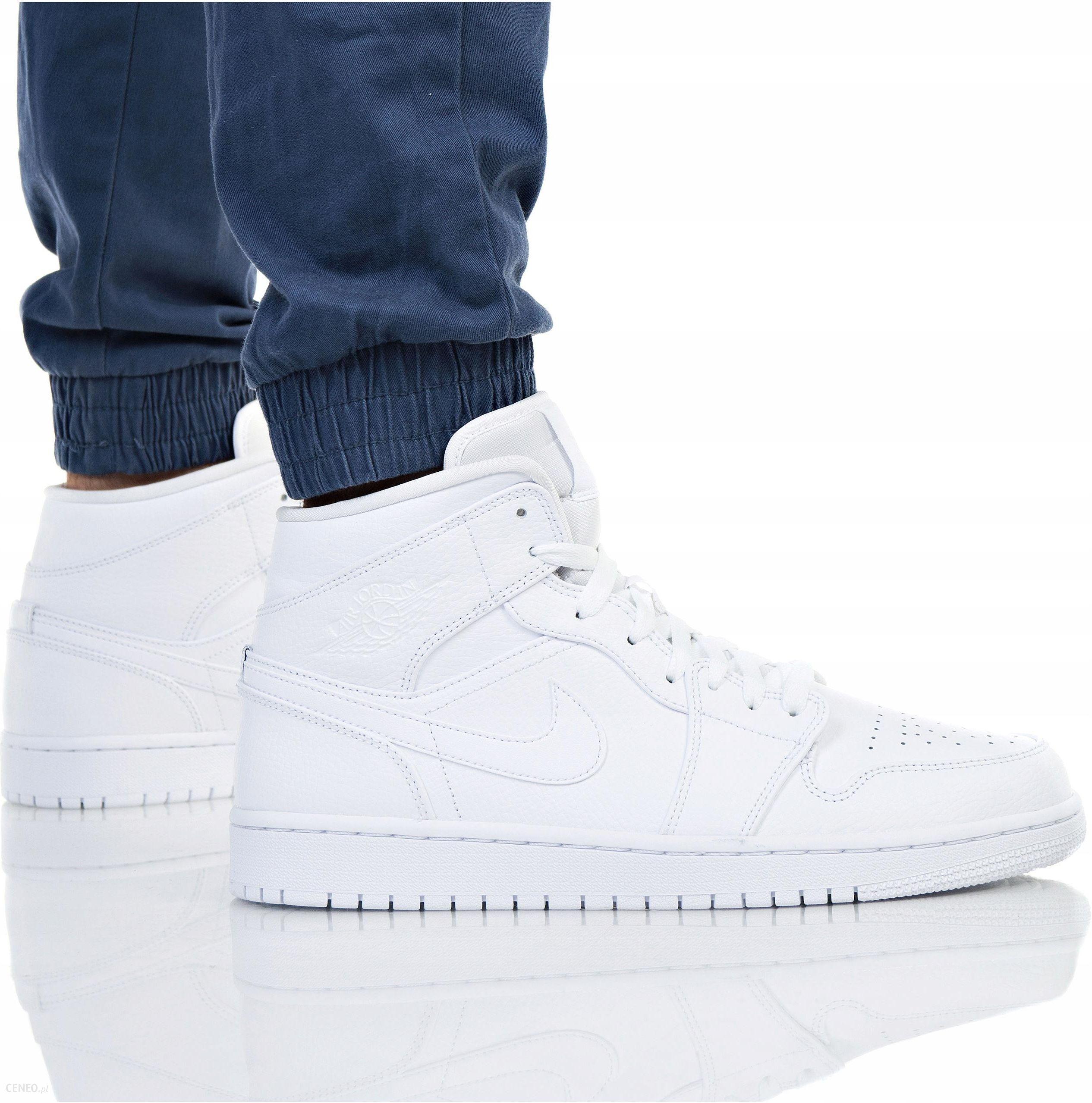 Buty Nike Męskie Air Jordan 1 MID 554724 129 Ceny i opinie Ceneo.pl