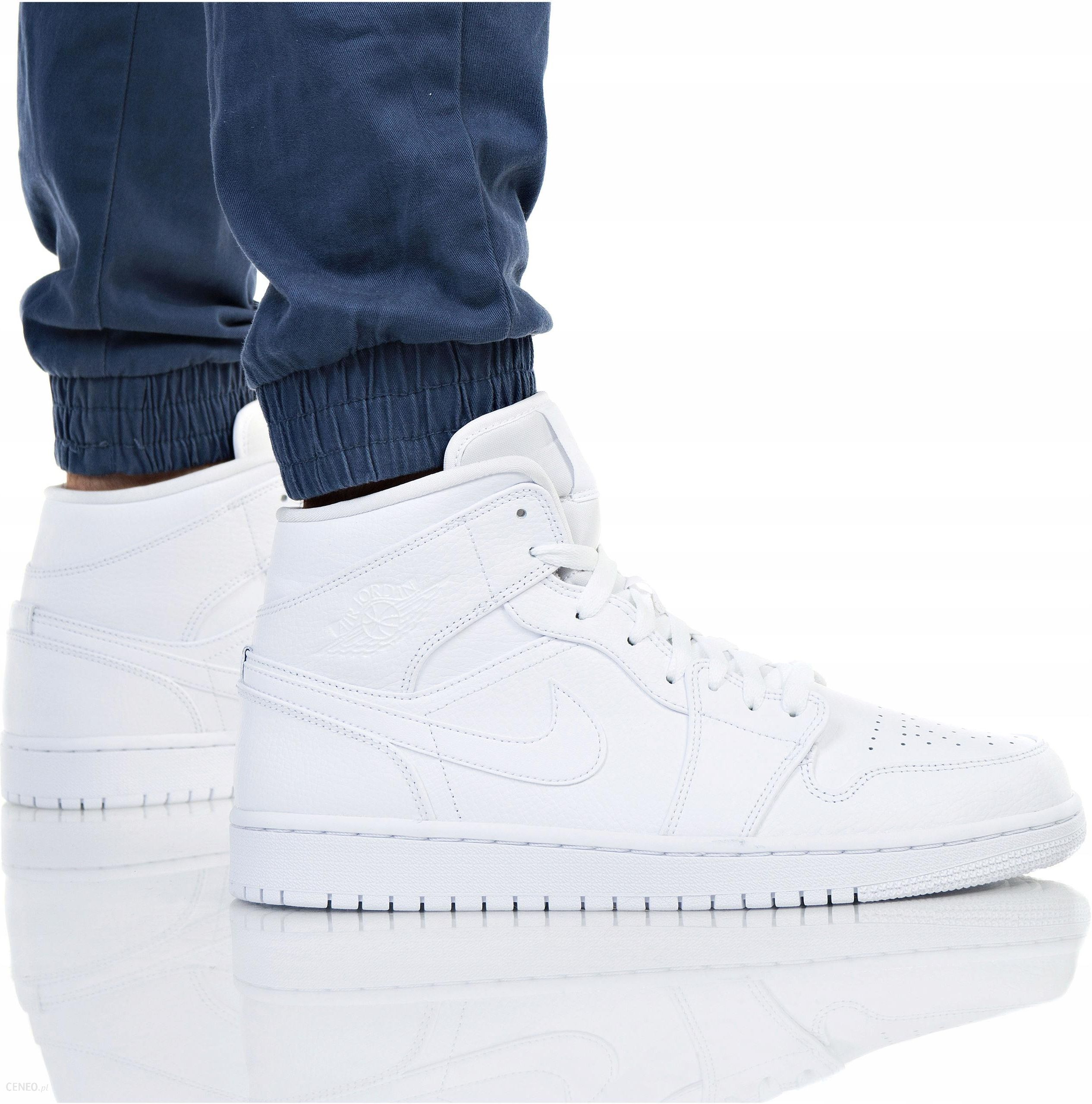 Nike buty męskie Air Jordan1 Mid 554724 129 białe
