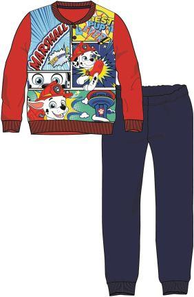 24f01c2ddcdac8 Disney by Arnetta piżama chłopięca Paw Patrol 98 czerwony/niebieski