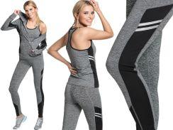 c2e65260ae2c97 Dres komplet Fitness leginsy top bluza C56 W2 L