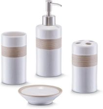 Zestaw Akcesoriów łazienkowych Wyposażenie łazienki Ceneopl