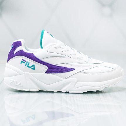 Fila FX100 MID Buty sportowe męskie wysokie whitedress blue