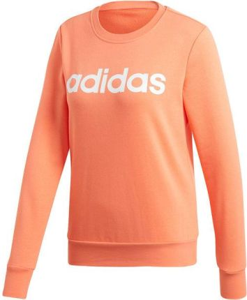 d5b9aed61 Bluza damska Essentials Linear Sweat Adidas (koralowa)