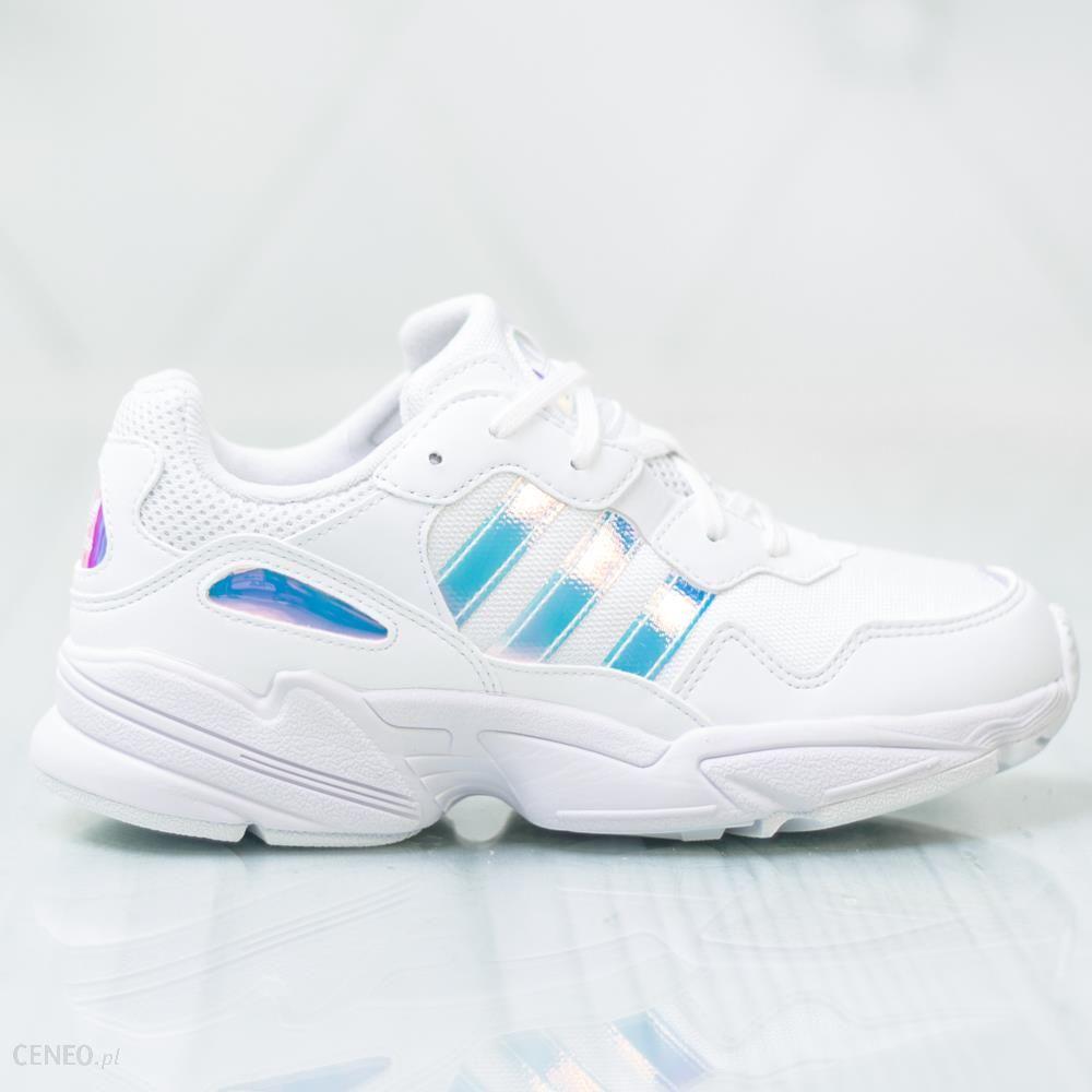 Damskie białe sneakersy adidas Falcon Yung 1 EE6737