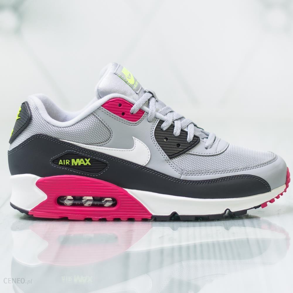 Buty Nike Air Max 90 SzaryRóżowyNiebieski Ceny i opinie