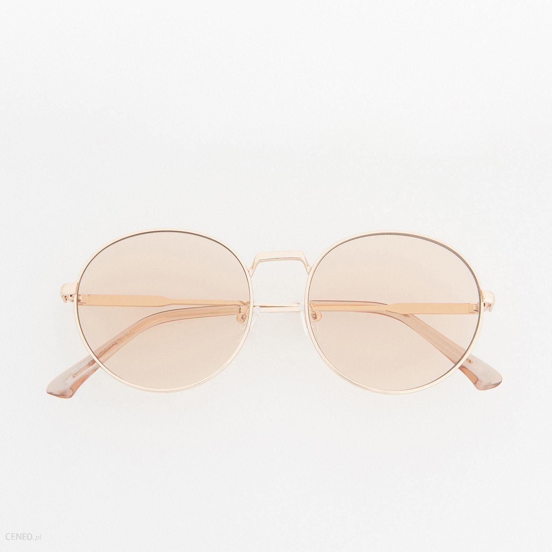 Reserved Okulary Przeciwsłoneczne Vm639 Gld Ceny i
