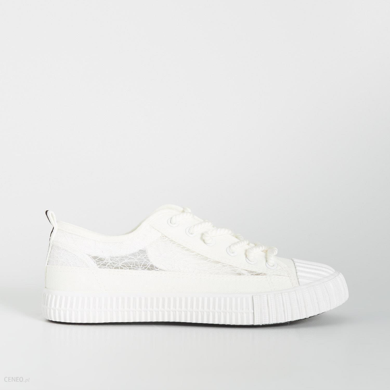 koronkowe białe trampki sportowe adidas 40,41