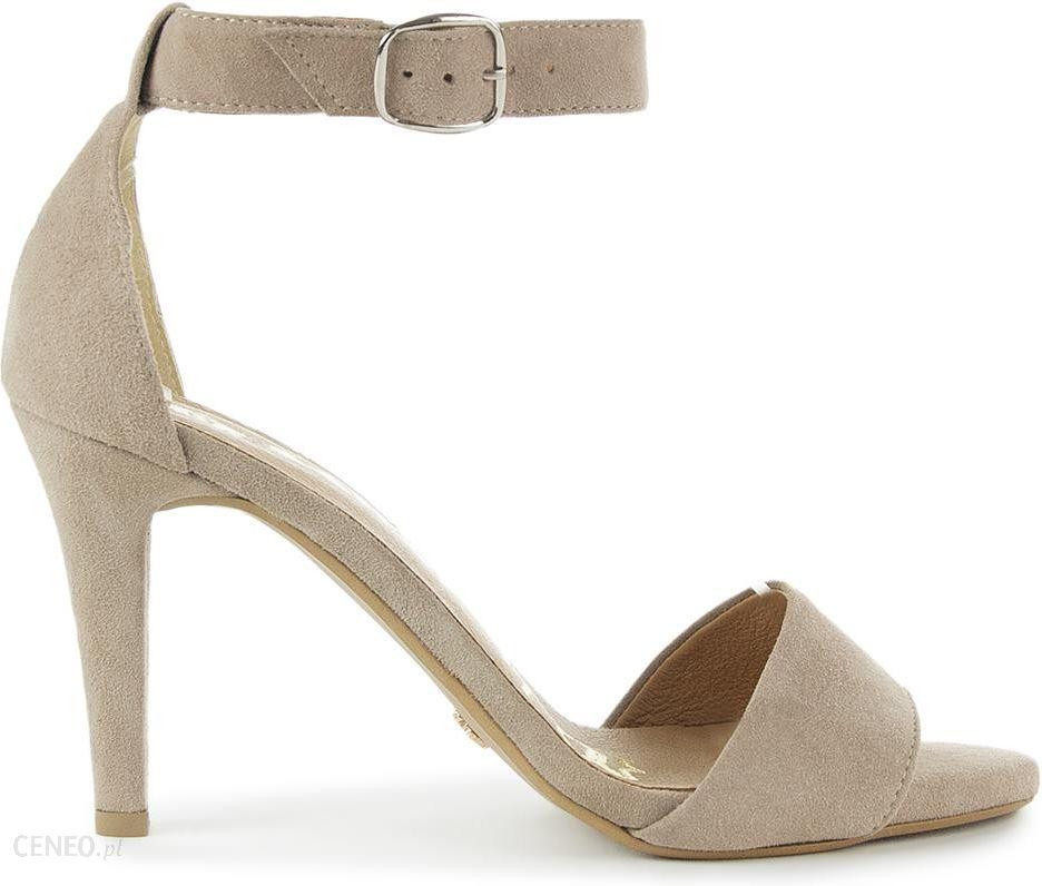 SAWAY Zamszowe sandały Paris nude