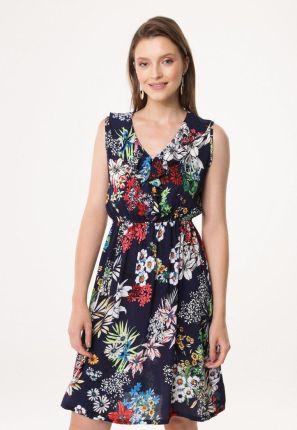 219ec314 Trapezowa sukienka z żakardu - Ceny i opinie - Ceneo.pl