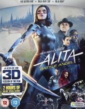 Alita: Battle Angel [Blu-Ray 4K]+[Blu-Ray 3D]+[Blu-Ray]