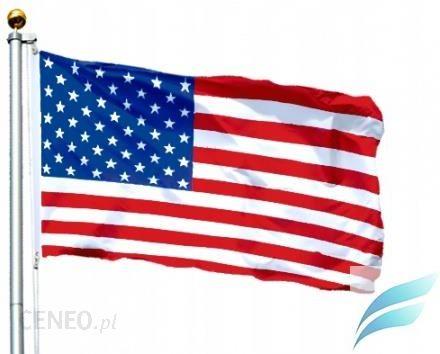 Hurtownia Flag Flaga Usa 150x90 Cm Flagi Ameryki Amerykanska Duza Ceny I Opinie Ceneo Pl