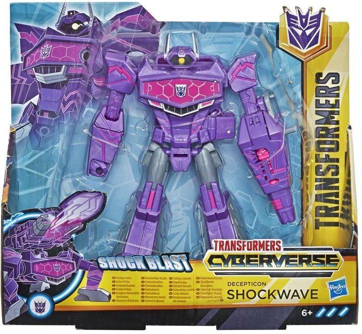 Hasbro Transformers Cyberverse Seria Ultra Decepticon Shockwave E1909 Ceny I Opinie Ceneo Pl