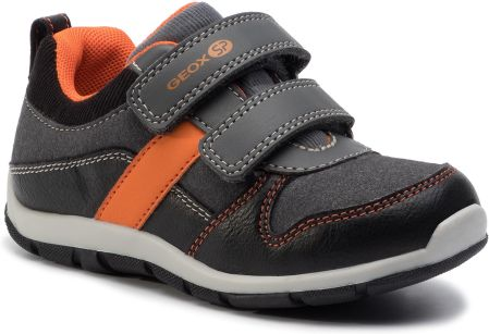 Sneakersy GEOX - B Heira B. A B943XA 0MEAF C0038 Black/Orange