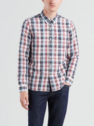 Koszula W Kratę męska czerwona Adidas S09941 Ceny i opinie Ceneo.pl