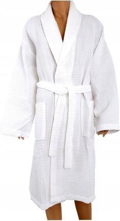 66c5634d13b19c Szlafrok płaszcz kąpielowy Gofrowany XL Greno biał Allegro
