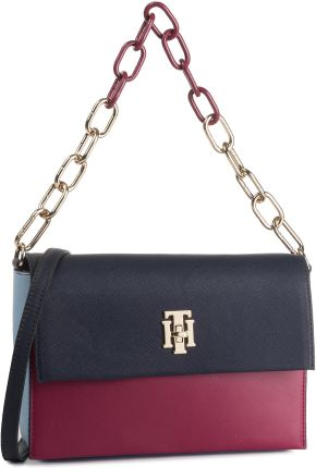 Torebka TOMMY HILFIGER - Th Saffiano Crossover AW0AW06808 902