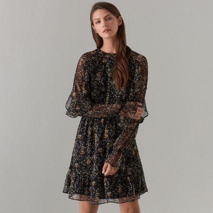 0644ee511178a6 Sukienki z falbankami na ramionach - oferty 2019 na Ceneo.pl