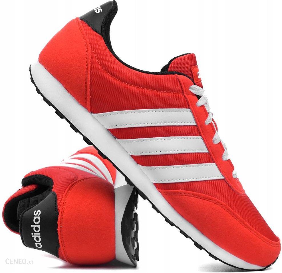 Buty męskie Adidas V Racer czerwone B34449 r.42,5 Ceny i opinie Ceneo.pl