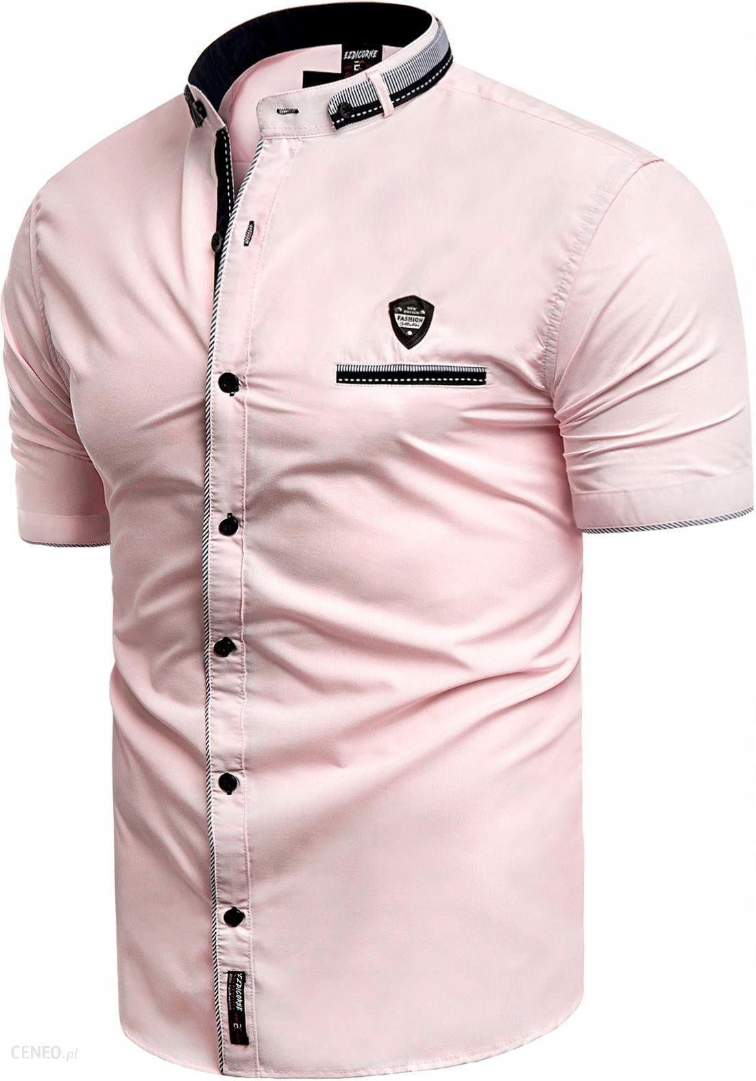 M Koszula Męska Krótki Rękaw 19 617 A Regular Ceny i  m4Tpf