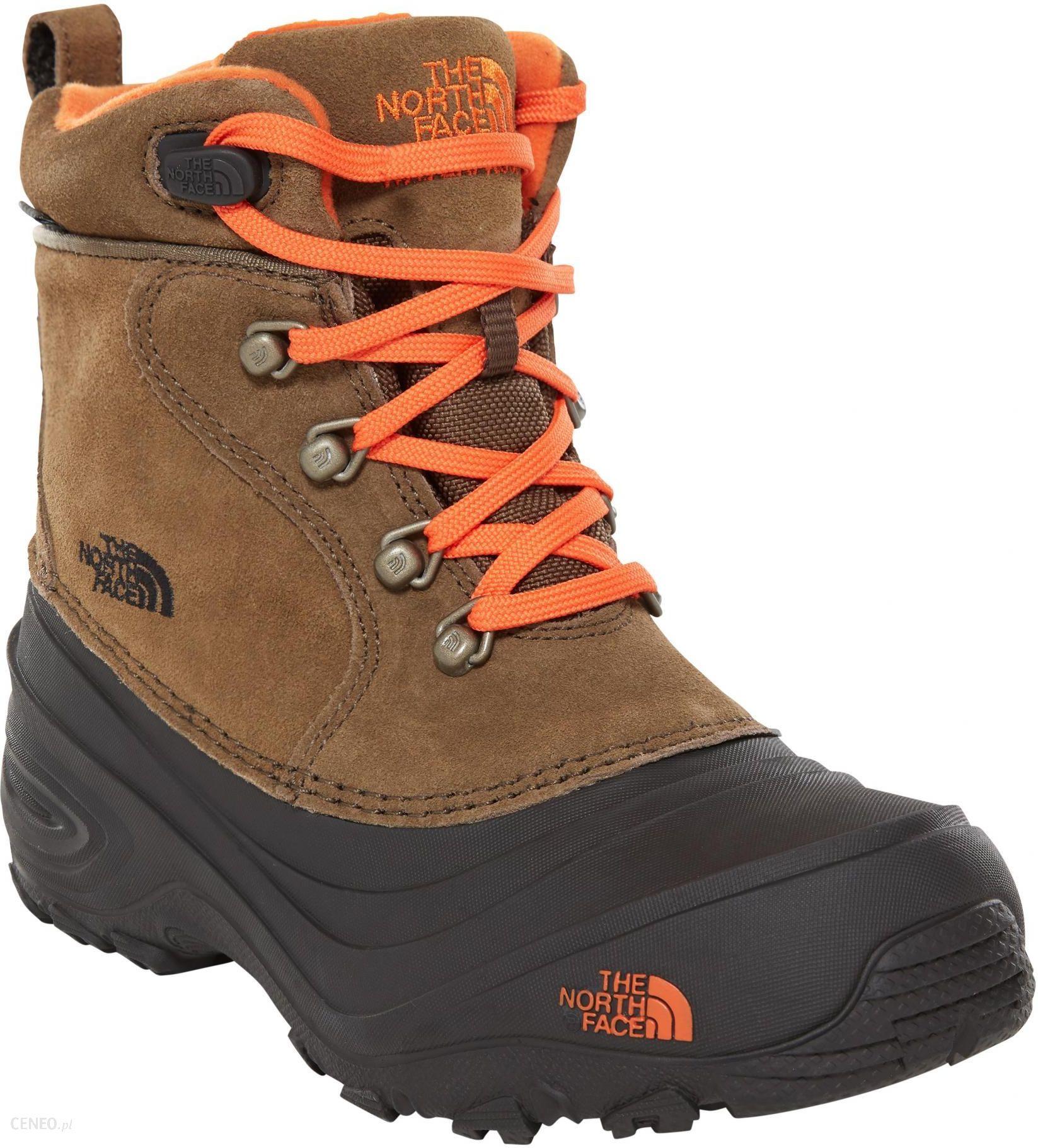 The North Face buty zimowe Y Chilkat Lace II Tyrmac miodowybrązowy 37 Ceny i opinie Ceneo.pl