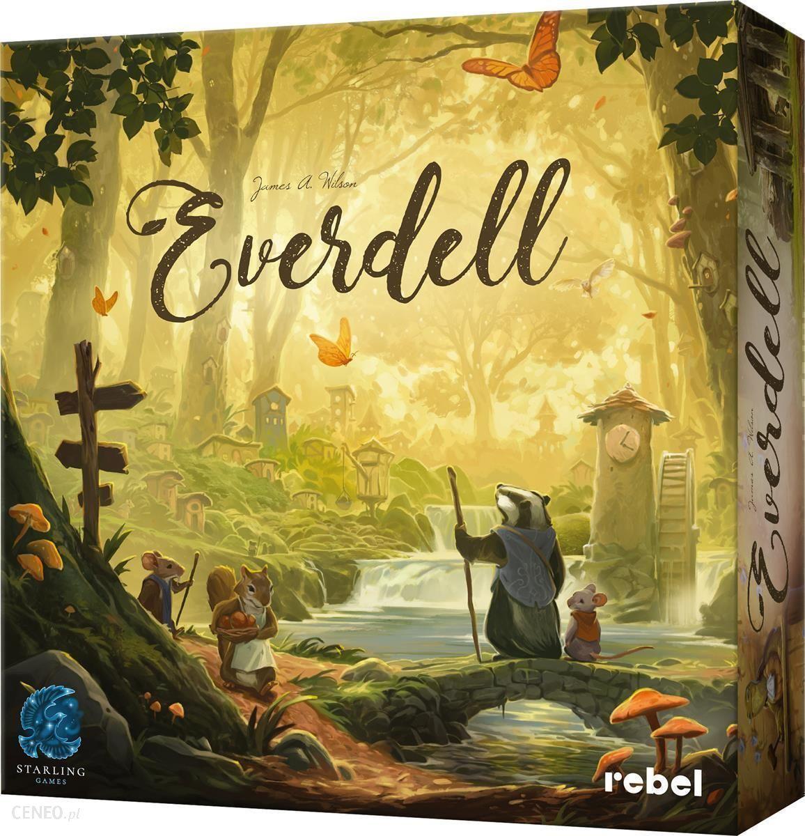 "Stalo žaidimas ""Rebel Everdell"""
