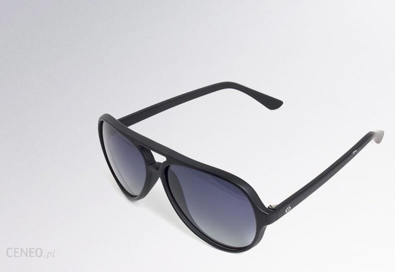 Visioptica Heritage Czarny Lakier Okulary przeciwsłoneczne z