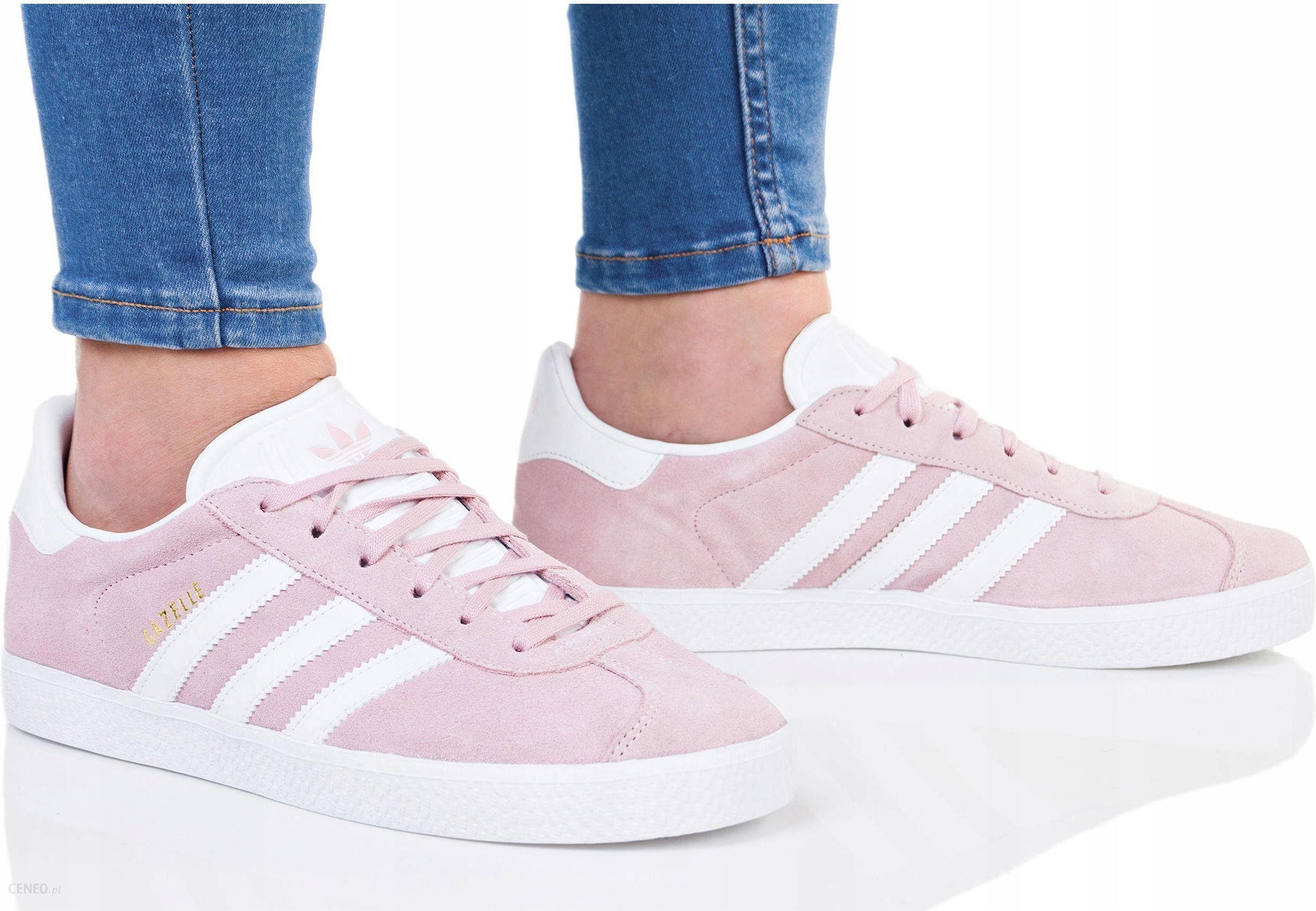 Buty Adidas Damskie Gazelle J BY9544 Różowe Ceny i opinie