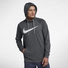 Nike Męska bluza treningowa z kapturem Nike Dri FIT Szary Ceny i opinie Ceneo.pl