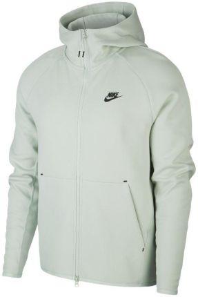 5ba843097 Nike Męska bluza z kapturem i zamkiem na całej długości Nike Sportswear Tech  Fleece - Zieleń