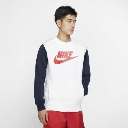Nike Męska bluza do skateboardingu z kapturem i długim