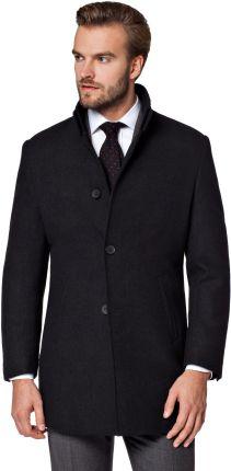 Weekday ZEKE Płaszcz wełniany Płaszcz klasyczny black